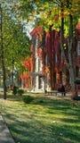 Herbst in der Stadt Stockfoto