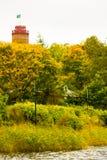 Herbst in Djurgarden, Stockholm, Schweden Stockfoto