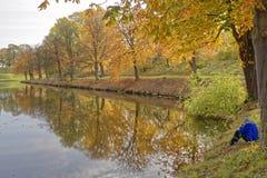 Herbst in Dänemark Stockfotografie