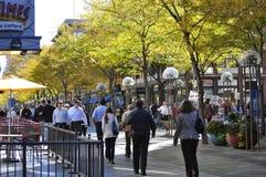 Herbst/Fall in die Stadt: Denver Lizenzfreie Stockbilder