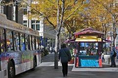 Herbst? Fall in die Stadt: Denver Lizenzfreie Stockbilder