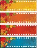 Herbst-Fall-Fahne stock abbildung