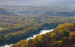 Herbst-Farben der Natur Lizenzfreies Stockfoto