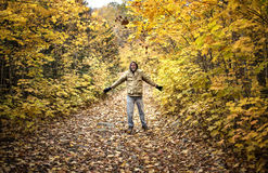 Herbst-Freude Stockfotografie