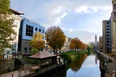Herbst in Gand Stockfotografie