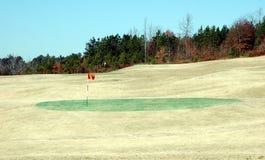 Herbst-Golf Stockbild