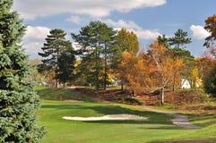 Herbst-Golf Stockfotografie