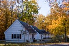 Herbst-Häuser Lizenzfreies Stockbild