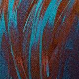 Herbst Hand gezeichnete Malerei Der Bürsten-Anschläge der Weinlese funkelnder abstrakter Hintergrund Gut für: Plakat, Karten, Dek lizenzfreie stockbilder