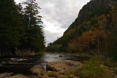 Herbst/Herbstlaub in der Adirondack-Gebirgshohe Spitzen-Region Lizenzfreie Stockfotos