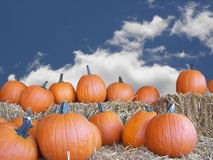 Herbst-Himmel Lizenzfreies Stockfoto