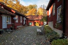 Herbst in idyllischem Wadkoping Lizenzfreies Stockbild