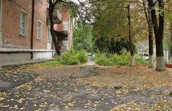 Herbst im alten Yard Lizenzfreie Stockfotografie