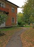 Herbst im alten Yard Lizenzfreies Stockbild