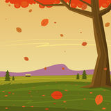 Herbst im Berg Lizenzfreie Stockfotografie