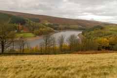 Herbst im Derwent-Tal stockfotos