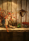 Herbst im Innenraum Stockfotografie