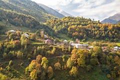 Herbst im Kaukasus stockbild