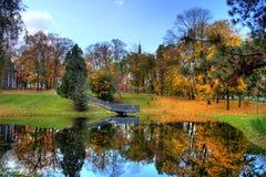 Herbst im Park Stockbilder