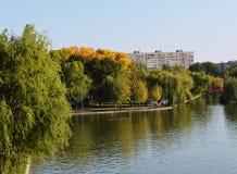Herbst im Stadtpark Lizenzfreies Stockbild