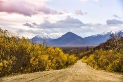 Herbst in Kamchatka Lizenzfreies Stockfoto
