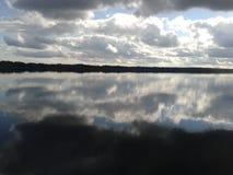 Herbst, Karelien, Jagd, Wald, Landschaft, der Ladogasee stockbilder