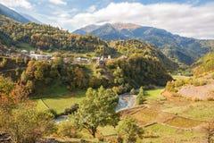 Herbst Kaukasus lizenzfreie stockbilder