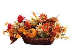 Herbst-Korb Stockfoto