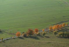 Herbst-Land Lizenzfreie Stockfotografie