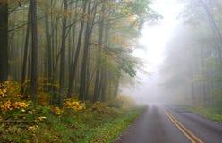 Herbst-Laufwerk stockfotografie