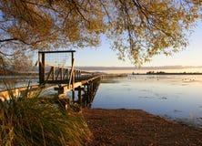 Herbst-Morgen Lizenzfreie Stockfotografie