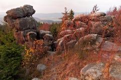Herbst-Morgen-Landschaft Lizenzfreies Stockfoto