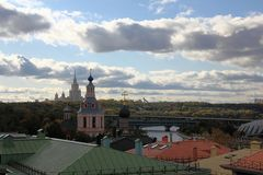 Herbst in Moskau Lizenzfreies Stockbild