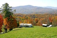 Herbst-Mountain View stockfotografie