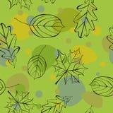 Herbst nahtlos stock abbildung