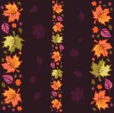 Herbst-nahtloses Muster Lizenzfreies Stockfoto