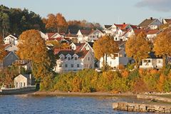 Herbst in Norwegen Stockfoto
