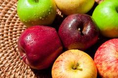 Herbst-Äpfel Lizenzfreies Stockfoto