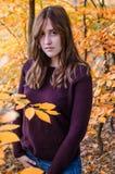 Herbst portret lizenzfreie stockbilder