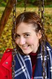 Herbst portret Stockfotografie