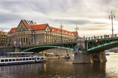 Herbst in Prag, Tschechische Republik, Europa Stockfotos