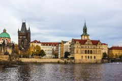Herbst in Prag, Tschechische Republik, Europa Lizenzfreie Stockbilder