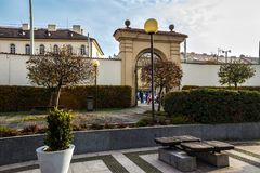 Herbst in Prag, Tschechische Republik, Europa Lizenzfreies Stockfoto
