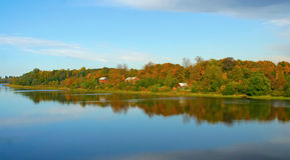 Herbst in Russland Lizenzfreie Stockbilder