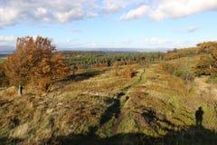 Herbst in Schottland lizenzfreies stockbild