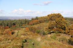 Herbst in Schottland stockbild