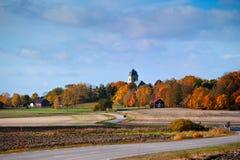 Herbst in Schweden Lizenzfreies Stockbild