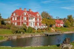 Herbst in Schweden Stockfoto