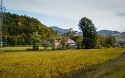 Herbst in Slowakei stockbilder