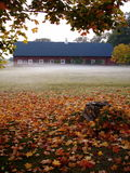 Herbst-Stall Stockfotos